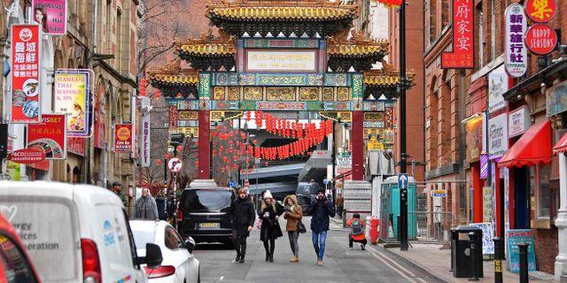 Illustrationsbild. Chinatown i Manchester  PAUL ELLIS / AFP