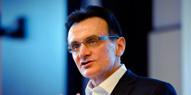 AstraZenecas koncernchef Pascal Soriot Henrik Montgomery/TT / TT NYHETSBYRÅN