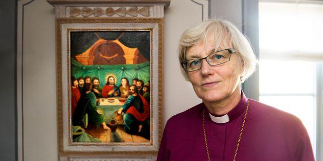 Ärkebiskop Antje Jackelén Lars Pehrson / SvD / TT / TT NYHETSBYRÅN