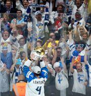 Finland firar VM-guldet 2020. DAVID W CERNY / BILDBYRÅN