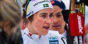 Ebba Andersson vid en tävling i Oslo tidigare i vår. MATHIAS BERGELD / BILDBYRÅN