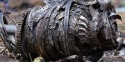 Rester av planet funna efter kraschen i Etiopien Tiksa Negeri / TT NYHETSBYRÅN