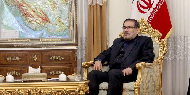 Ali Shamkhani. Ebrahim Noroozi / TT NYHETSBYRÅN