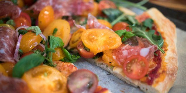 En pizza. Arkivbild. Henrik Montgomery/TT / TT NYHETSBYRÅN