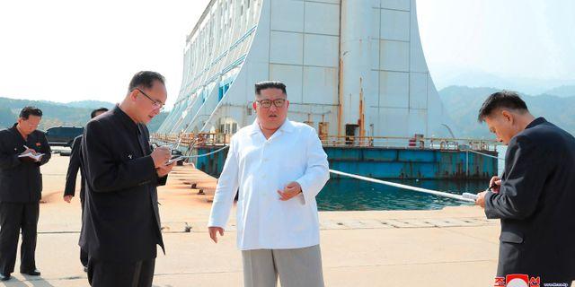 Nordkoreas ledare Kim Jong-Un. TT NYHETSBYRÅN