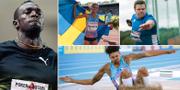 Bolt, Tornéus, Bahta och Ståhl. Arkivbilder. TT