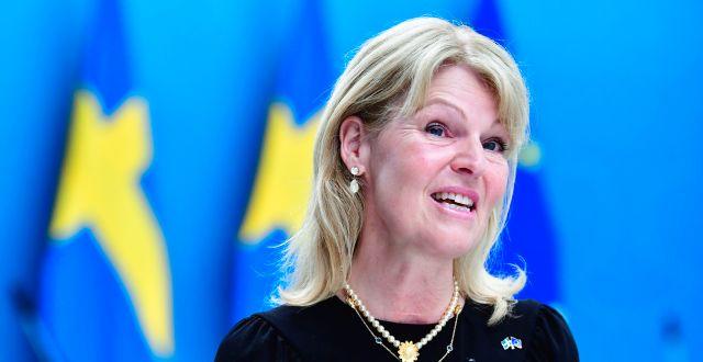 Anna Hallberg (S). Jonas Ekströmer/TT / TT NYHETSBYRÅN