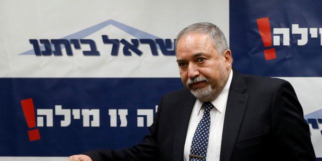 Israels försvarsminister Avigdor Lieberman.  RONEN ZVULUN / TT NYHETSBYRÅN