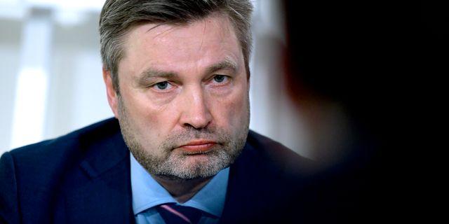 Peter Helander, Centerpartiets talesperson i skogsfrågor.  Janerik Henriksson/TT / TT NYHETSBYRÅN