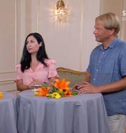 Sakine Madon och Anders Lindberg.