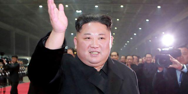Kim Jong-Un. KCNA VIA KNS / KCNA VIA KNS
