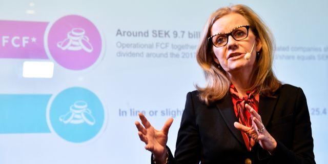 Arkivbild: Microsofts Sverige-vd Hélène Barnekow.  Hossein Salmanzadeh/TT / TT NYHETSBYRÅN