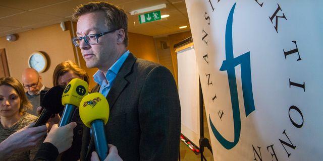 Arkivbild: FI:s chefsekonom Henrik Braconier. JONAS EKSTRÖMER / TT / TT NYHETSBYRÅN