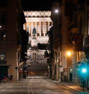 Illustrationsbild: Tom gata i Rom, 26 oktober 2020.  Alessandra Tarantino / TT NYHETSBYRÅN