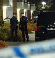 Polisen på plats i Svalöv Johan Nilsson/TT / TT NYHETSBYRÅN