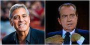 George Clooney och Richard Nixon. TT