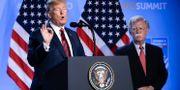 Trump och Bolton Markus Schreiber / TT NYHETSBYRÅN