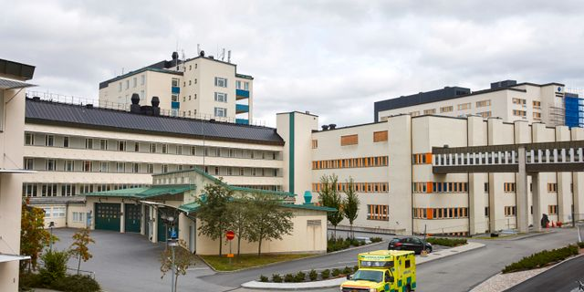 Akademiska sjukhuset. Fredrik Persson /TT / TT NYHETSBYRÅN