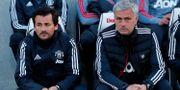 José Mourinho och Rui Faria. EDDIE KEOGH / TT NYHETSBYRÅN