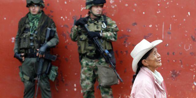 Lyckade fredssamtal i colombia
