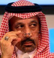 Saudiarabiens energiminister Khalid al-Falih. Ronald Zak / TT NYHETSBYRÅN/ NTB Scanpix