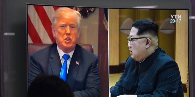 JUNG YEON-JE / AFP