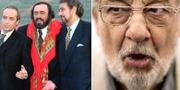 """De tre tenorerna"", Jose Carreras, Luciano Pavarotti och Placido Domingo 1995/Plácido Domingo TT"