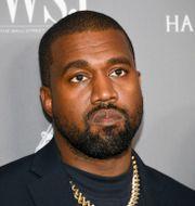 Kanye West.  Evan Agostini / TT NYHETSBYRÅN