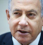 Benjamin Netanyahu. POOL New / TT NYHETSBYRÅN