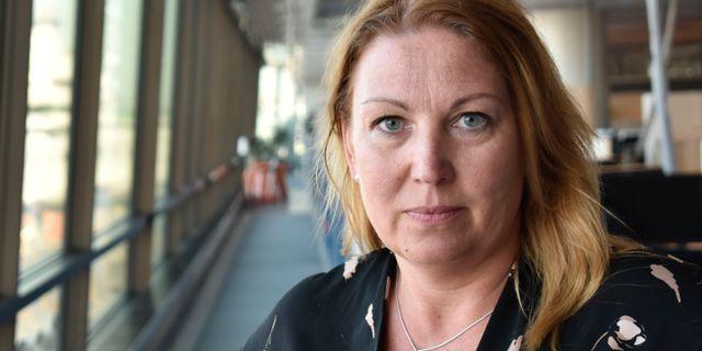 Johanna Jaara Åstrand, ordförande i Lärarförbundet Niklas Svahn/TT / TT NYHETSBYRÅN