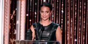 Alicia Vikander på Hollywood Film Awards. Chris Pizzello / TT NYHETSBYRÅN
