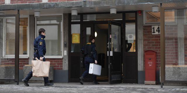 Knivskärningen inträffade den 9 januari i år. Stina Stjernkvist/TT / TT NYHETSBYRÅN