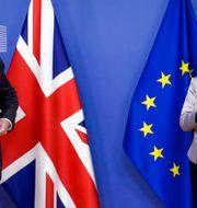Söndag är den nya deadlinen, enades premiärminister Boris Johnson och EU-chefen Ursula von der Leyen om. Olivier Hoslet / TT NYHETSBYRÅN