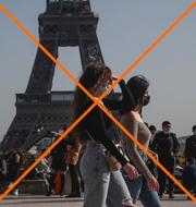 Frankrike är på den gula listan, medan Neya Zeeland blir grönlistat och därigenom enklare att resa till och från. TT