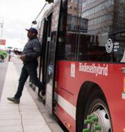 SL-buss, Stockholm Jessica Gow/TT / TT NYHETSBYRÅN