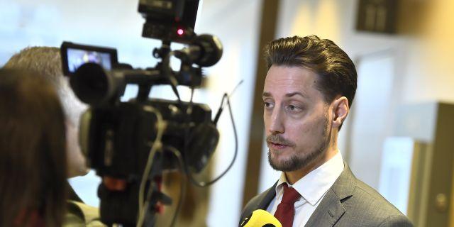 Robin Grönvall. Claudio Bresciani/TT / TT NYHETSBYRÅN