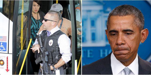 Bildbevis pa skjutande obama