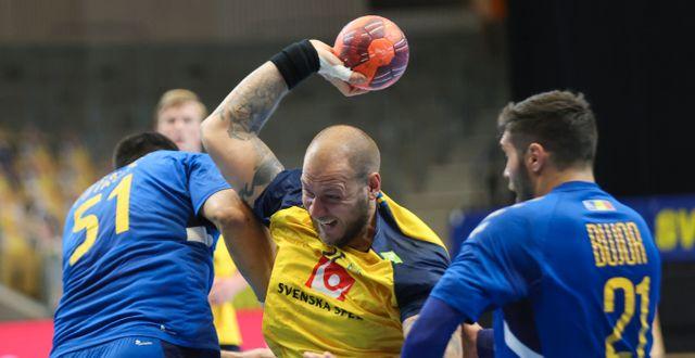 Sveriges Andreas Nilsson i en tidigare match.  Adam Ihse/TT / TT NYHETSBYRÅN