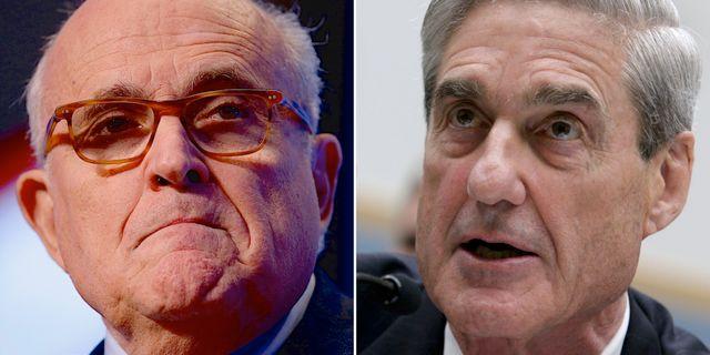 Rudy Giuliani/Robert Mueller.  TT