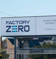 En av GM:s fabriker som ska satsa på elbilstillverkning.  Carlos Osorio / TT NYHETSBYRÅN
