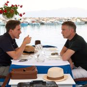 Rob Brydon och Steve Coogan i The Trip to Greece. Andy Hall / TT NYHETSBYRÅN