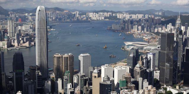 Hong Kong. Kin Cheung / TT NYHETSBYRÅN/ NTB Scanpix