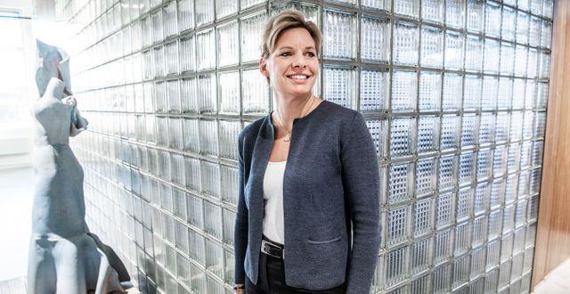 Annica Ånäs, vd på Atrium Ljungberg. Lars Pehrson/SvD/TT / TT NYHETSBYRÅN