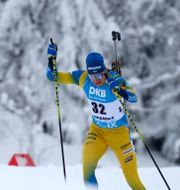 Martin Ponsiluoma från en tävling tidigare i veckan. Matthias Schrader / TT NYHETSBYRÅN