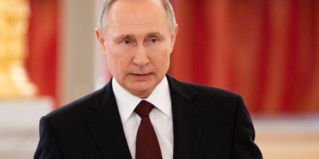 Vladimir Putin. Alexander Zemlianichenko / TT NYHETSBYRÅN