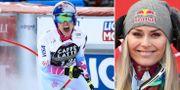 Lindsey Vonn i Åre. TT