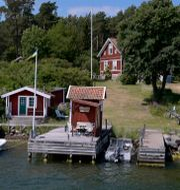 Illustrationsbild. Ett fritidshus i Stockholms skärgård. Janerik Henriksson/TT / TT NYHETSBYRÅN