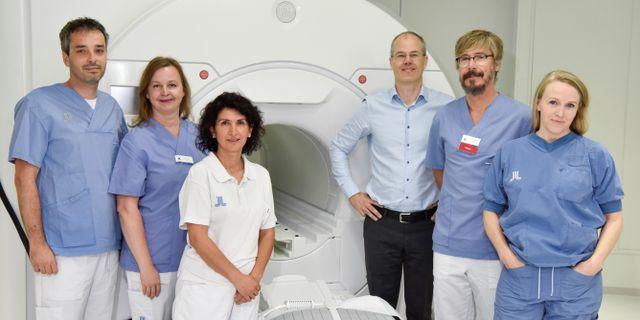 Teamet bakom operationen Medicinsk Bild Karolinska Universitetssjukhuset