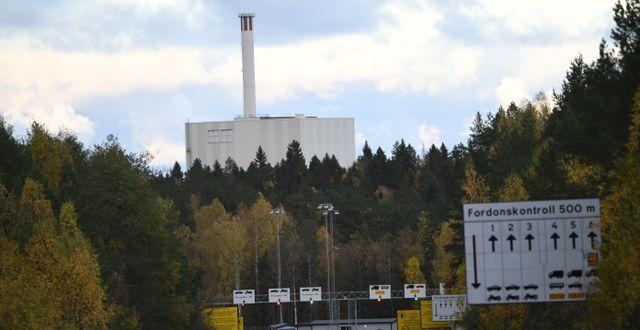Forsmarks kärnkraftverk i Östhammar/Arkivbild TT / TT NYHETSBYRÅN