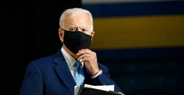 Joe Biden. Patrick Semansky / TT NYHETSBYRÅN